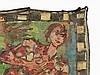 Vera Vermeersch, Tapestry with Elvira Bach Motif, Ghent, 1994