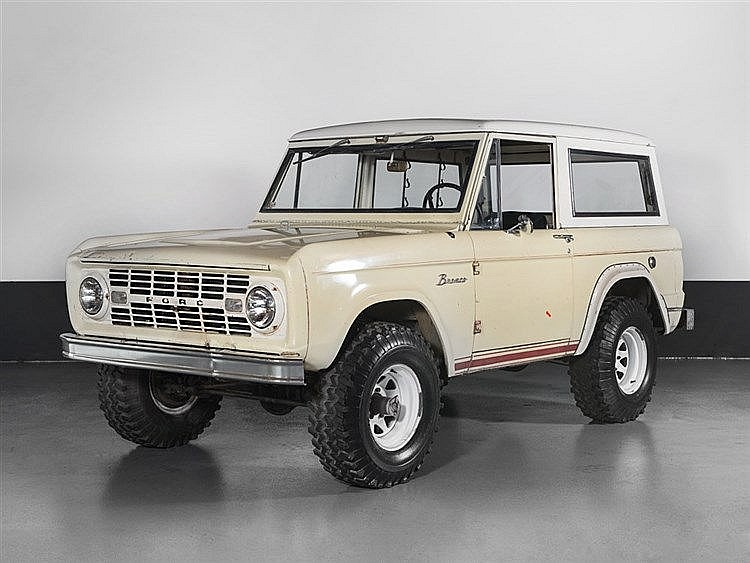 Ford Bronco, Model Year 1965
