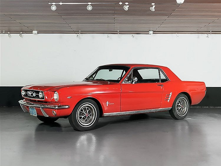 Ford Mustang Coupe V8 289cui, Model Year 1966