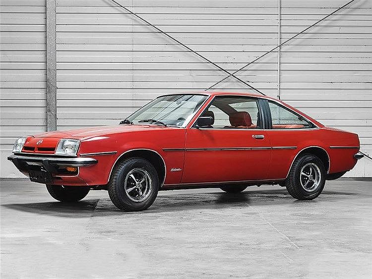 Opel Manta Berlinetta, 1978