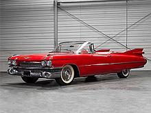 Cadillac Eldorado Cabrio with Original Tailfin, Model Year 1959