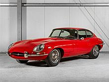 Jaguar, E Type Serie 1 4.2 Fixed Head Coupe, Model Year 1965