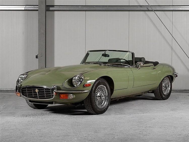 Jaguar, E-Type Serie III 5.3 V12 OTS, Willow Green, Model 1972