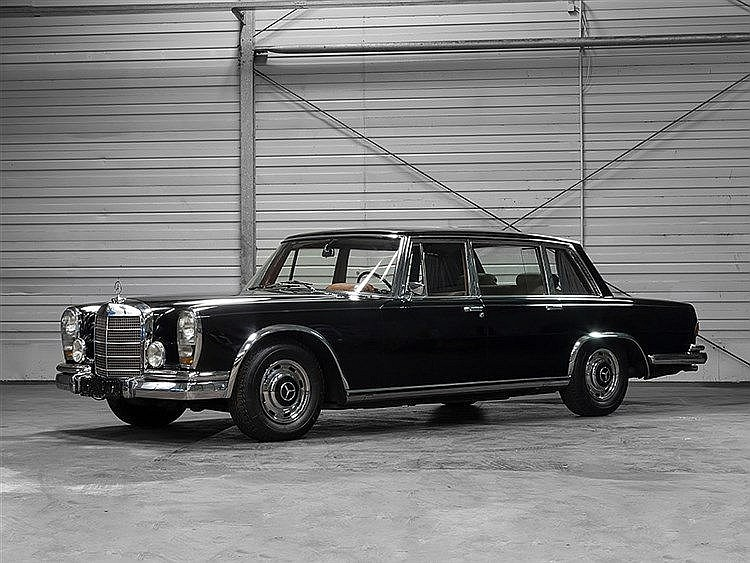 Mercedes Benz 600 W 100, Model Year 1965