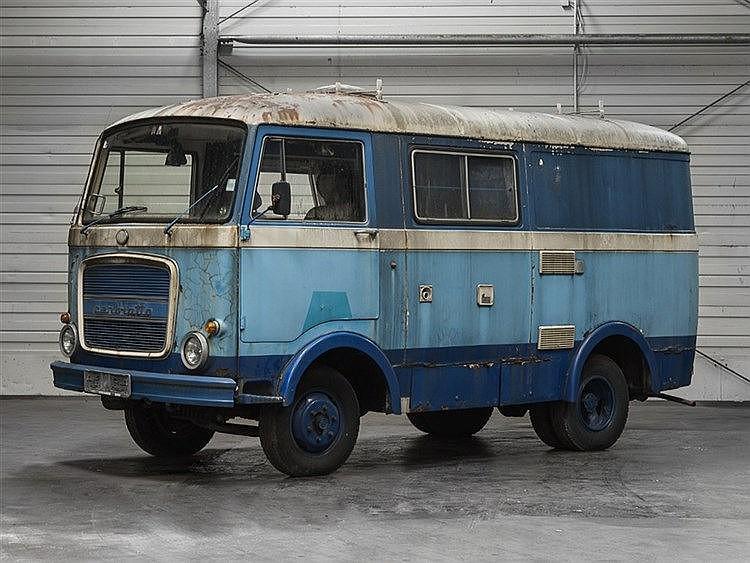 Fiat OM Cerbiatto Hirschkuh Setra Steyr, 1967