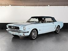 Ford Mustang V8 Convertible C4 Automatic, Model Year 1964