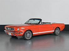 Ford Mustang V8 Convertible C4 Automatic, Model Year 1965