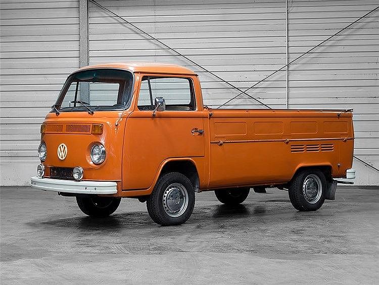 T2 b Pritsche Volkswagen, Model Year 1973