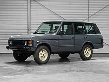 Land Rover Range Rover 3.5 Classic, Model Year 1985
