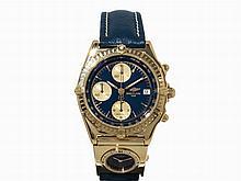 Breitling Chronomat Chronograph 18 K Gold, Switzerland, c. 1993