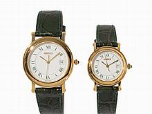 Gucci, Set of Lady's and Men's Watch, c. 1990
