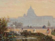 Achille Bénouville (1815-1891), St. Peter's Cathedral, 1862
