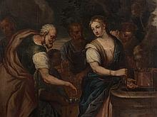 Workshop of Paolo Veronese, Rebecca at the Well, 16th/17th C.
