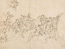 Niccolò Lapi Attr., Allegory of the Papacy, 17th Century