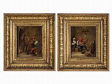 David Teniers II, Circle, Genre scenes, Oil, 17th century