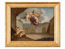 Daniel And The Prophet Jeremias, Spanish School, 18th Century
