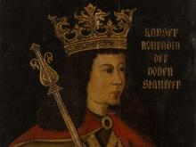 Portrait Conradin von Hohenstaufen, Oil on Wood, Germany, c. 1800
