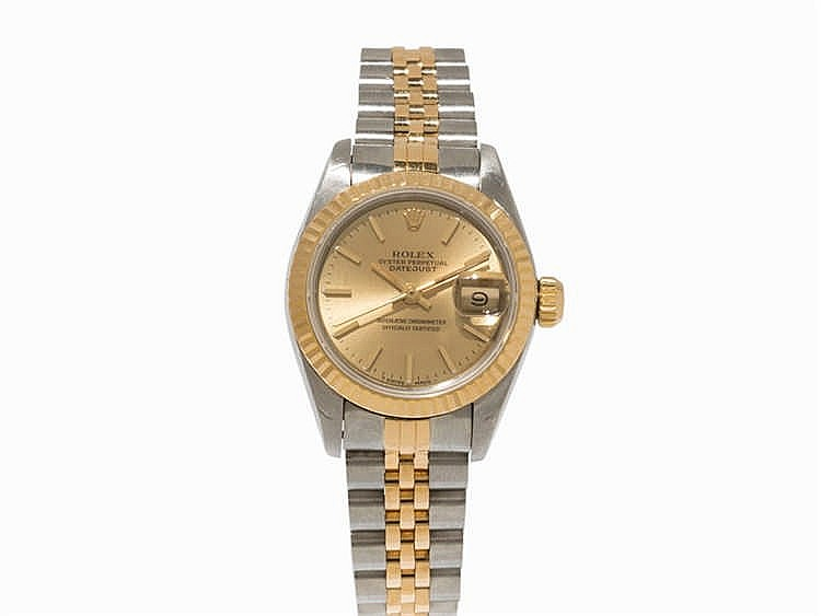 Rolex Datejust Lady's Watch, Ref. 69173, c. 1991