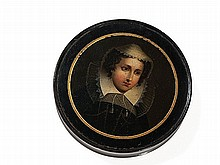 Stobwasser Snuff Box 'Mary Stuart', Germany, early 19th C