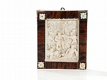 Ivory Relief 'Noche Triste', presumably German, 19th C