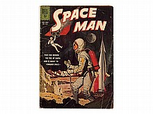 Jack Sparling, Space-Age-Comic Book, 'Space Man', USA, 1962