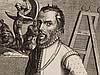Simon Frisius, Painter Michael Coxcie, Engraving, c 1610, Simon Frisius, Click for value