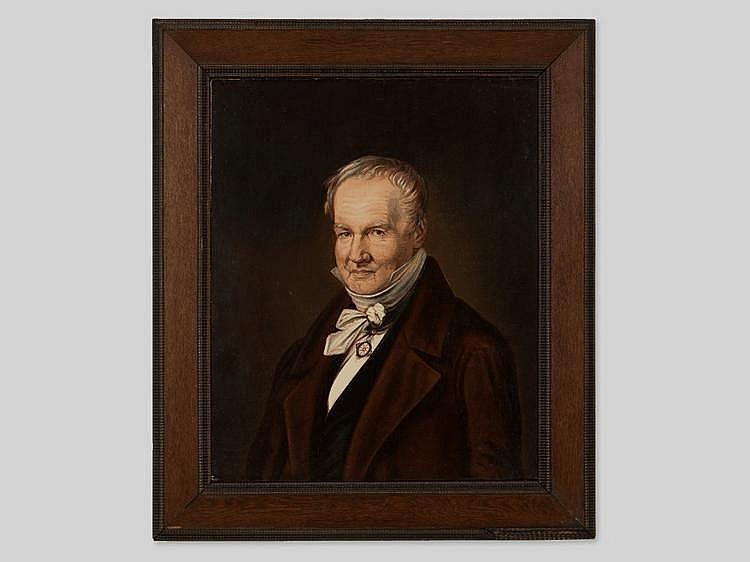 """Oil Painting """"Alexander von Humboldt"""