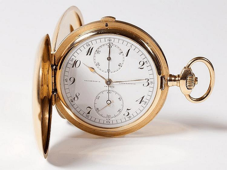 Vacheron & Constantin Pocket Watch, 18 carat Gold, 1890s