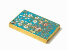 Rectangular Cloisonné Scroll Paperweight, China, 18th/19th C.
