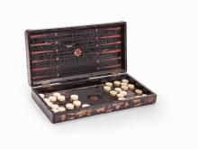 Backgammon with Ivory Checkers, China, 19th Century