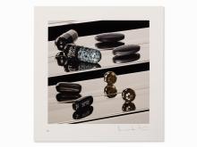 Damien Hirst, Dark Black Heaven (Nite Time), Mixed Media, 2012