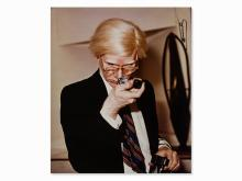 Zoa, Portrait of Andy Warhol, C-Print, circa 1970