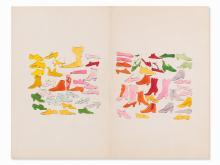 Andy Warhol, A la Recherche du Shoe Perdu, Lithograph, c. 1955