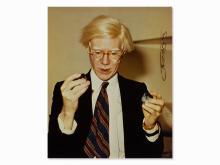 Zoa, Portrait Andy Warhol, C-Print, circa 1970