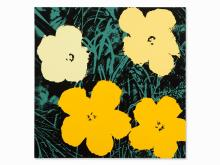 After Andy Warhol, Flowers, Color Serigraph, 1970/1980s