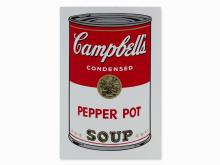 After Andy Warhol, Campbell's Soup I, Pepper Pot, 1968