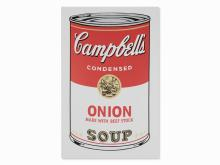After Andy Warhol, Campbell's Onion Soup, Serigraph, 1968