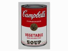 After Andy Warhol, Campbell's Soup I, Vegetable, 1968