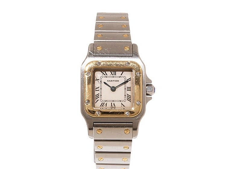 Cartier Santos Ladies' Watch, Ref. 1567, c. 1995