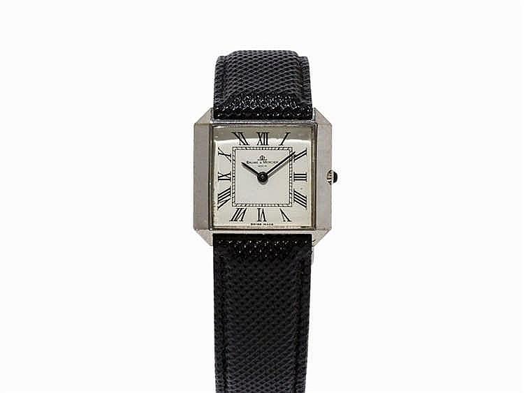 Baume & Mercier Wristwatch. Switzerland, c. 1980