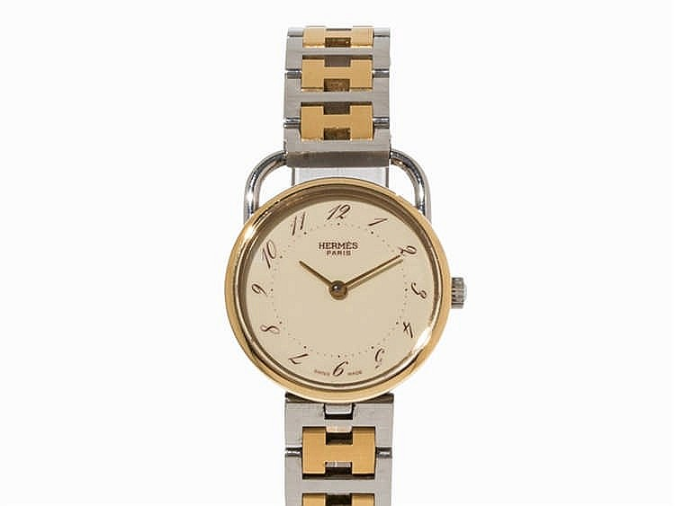 Hermes Arceau ladies' watch, ref. AR3.210, c. 2004
