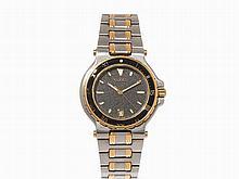 Gucci, Two-Tone Wristwatch, Ref. 9700 M, Switzerland, 2000s