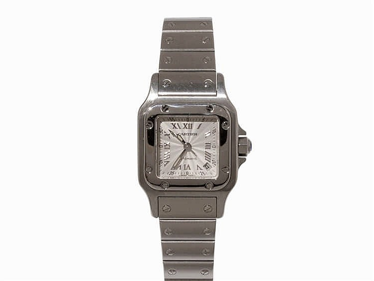 Cartier Santos Wristwatch, Ref. 2423, c. 2000