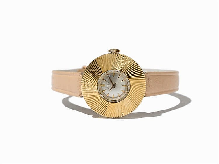 Zenith Gold Women's Watch, Switzerland, Around 1970