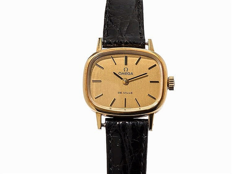 Omega De Ville Gold Ladies' Watch, Switzerland, c. 1979