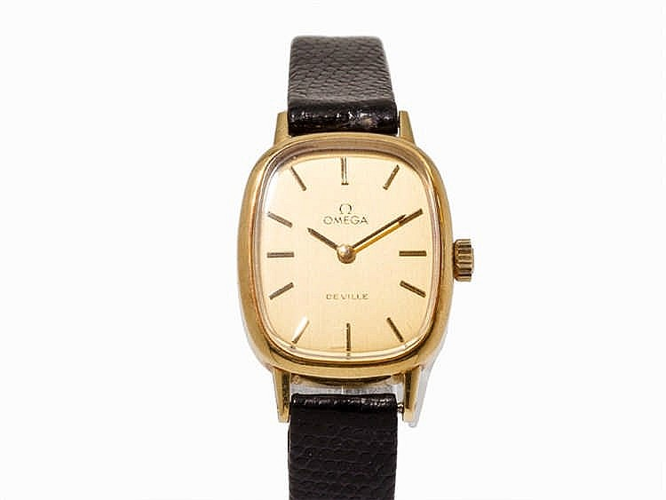 Omega De Ville Gold Ladies' Watch, Ref. 511.0545, c. 1979