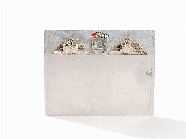 Mirro, Clipboard, Aluminum, USA, 20th C.