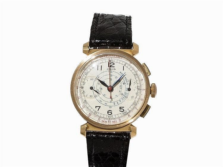 Jaeger Chronograph Wristwatch, c. 1935