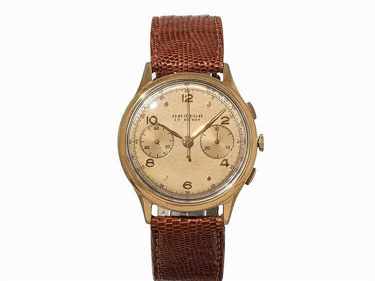 Orator Vintage Chronograph, Switzerland, c. 1955