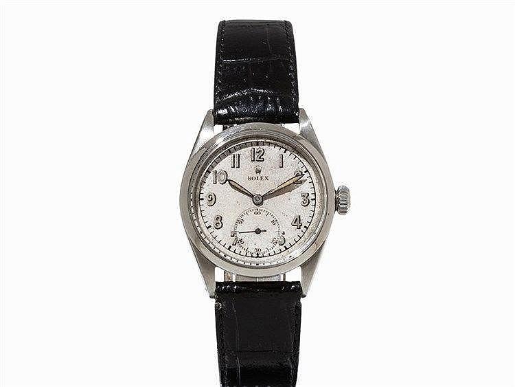 Rolex Oyster Steel Wristwatch, Switzerland, 1956